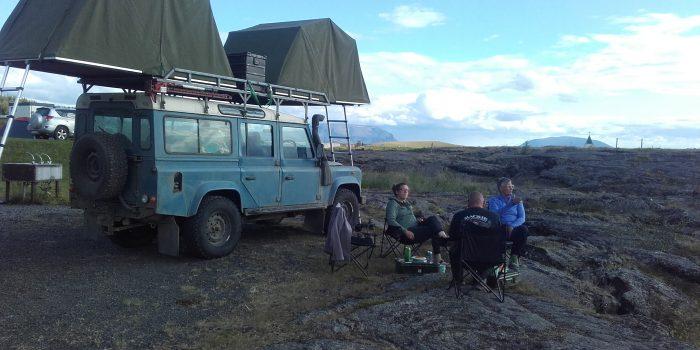 OLLI Adventures 4x4 Landrover kamperen